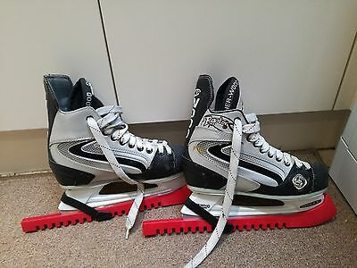 * Sherwood Raptor Pro Ice * Ice Hockey Skates Size 5 Uk