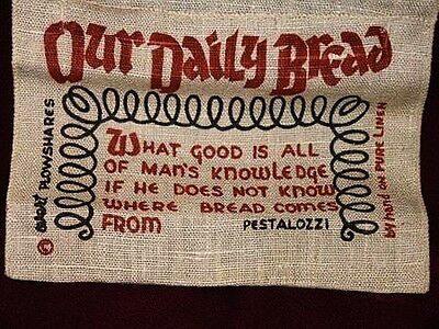 'Our Daily Bread' Hanging Recipe Holder