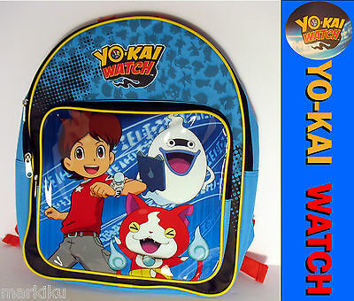 YouKai Yokai watch cartoon Anime School backpack bag featuring Nat Nathan Calego