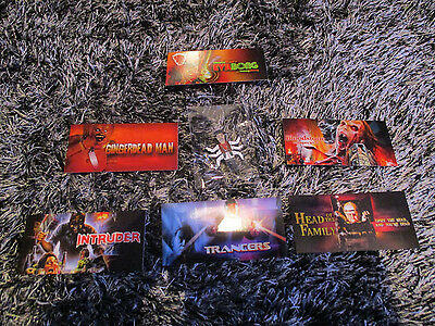 Six-Shooter Puppet Master Pin Badge + Stickers / Puppet Master Fullmoon Horror