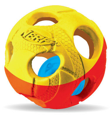 Nerf Dog Illuma-Action-LED: Bash Ball  - Grösse: Klein Ø 6,4 cm