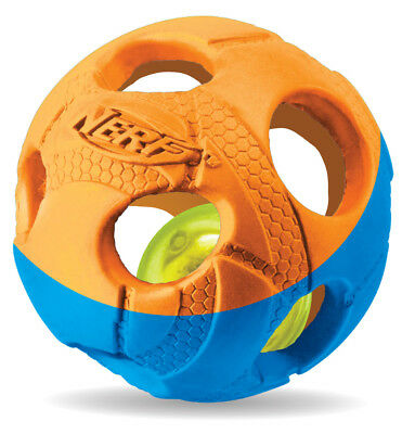 Nerf Dog Illuma-Action-LED: Bash Ball  - Grösse: Mittel Ø 8cm