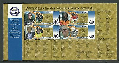 Tuvalu - 2004 - FIFA Centenial - 21st May 2004 - 100 Years of Football