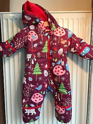 Hatley Baby Girl's Winter Snowsuit, Size 6-12 Months
