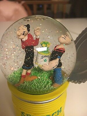 Popeye and Olive Water Globe