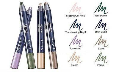Avon Big Colour Eye Pencil - Pearlised Finish | Blendable | Buildable  New Boxed