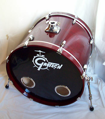 Gretsch Catalina Ash Bass Drum 22 x 18 Cherry Lacquer with Drum Bag