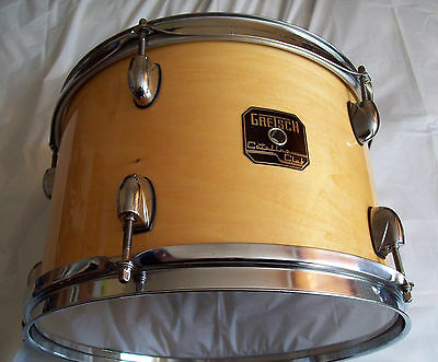 Gretsch Catalina Club Tom Drum 12 x 8 Natural Gloss Lacquer