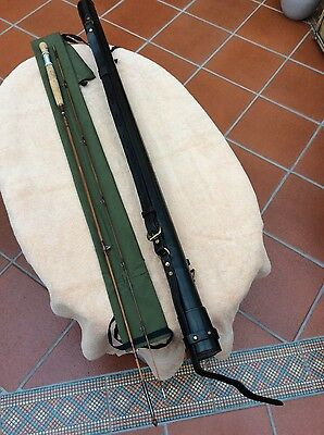 S J Sharpe , 'The Scottie' The featherweight, 7ft, 2 pc, 4 wt Trout Flt rod