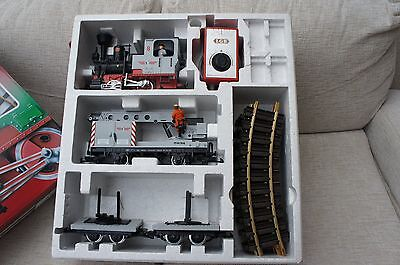 G scale LGB Starter Set, With controller and 50inch circle of track