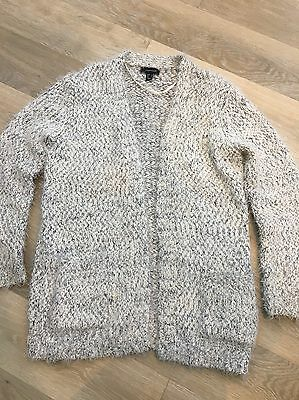 Womens Atmosphere Wooly Cardigan Size 14