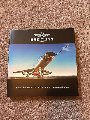 2009 Breitling Chronolog Catalogue Book With Price List