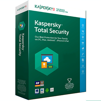 Kaspersky Total Security Multi-Device  2017 3 User / Device / Pc 1 Year  Downloa