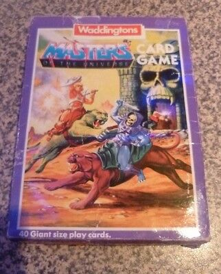 Masters of the Universe Card Game (Waddingtons 1985)