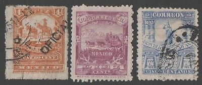 Mexico.  1895 Postal Transport. Cancelled
