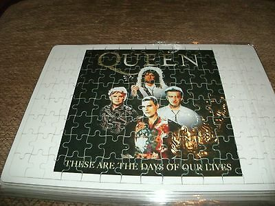 Queen - These Are The Days Of Our Lives - 120Pc Jigsaw