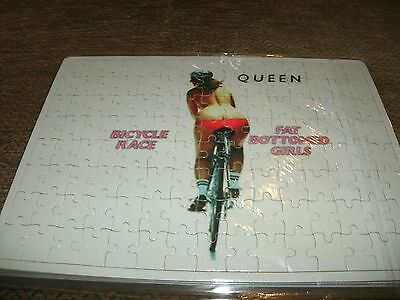 Queen - Bicycle Race- Fat Bottomed Girls - 120Pc Jigsaw