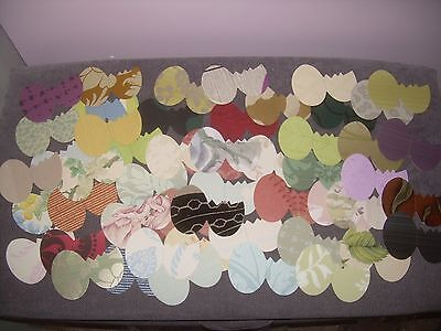 50 Piece Easter Egg, Cracked Egg die cuts, random assortment