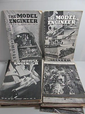The Model Engineer Magazine collection x 51 issues Published 1940's-50's