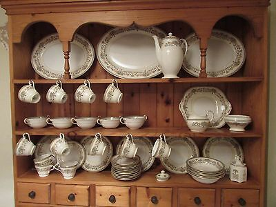 103 pieces of Aynsley 'Henley' China including dinner service