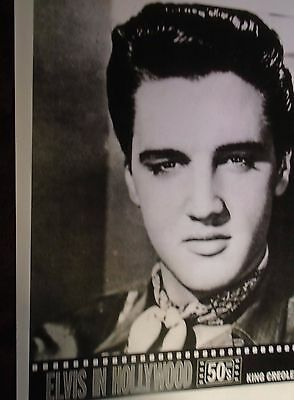 Elvis Presley A4 Print from Film Poster King Creole 1958 *Ultra Rare*