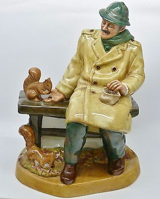 Beautiful Royal Doulton Figure 'lunchtime' Hn 2485 - Mary Nicoll - 'professions'