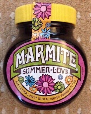 MARMITE SUMMER OF LOVE LIMITED EDITION NEW & SEALED 250g