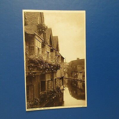 Old Postcard of Canterbury, The Weavers.