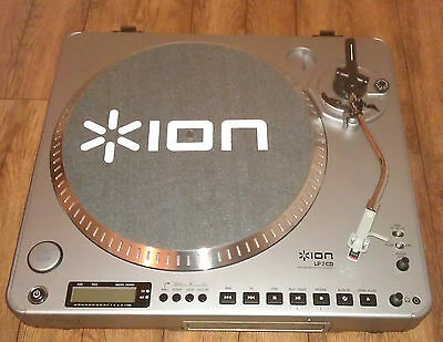 ION Audio LP2CD Digital Conversion Turntable with Built-in CD Recorder