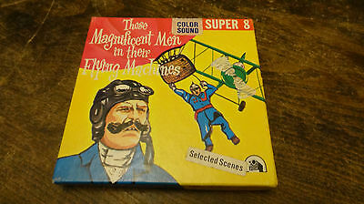 super 8 mm film THOSE MAGNIFICENT MEN IN THEIR FLYING MACHINES sound color
