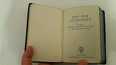 1961 Collins dictionary