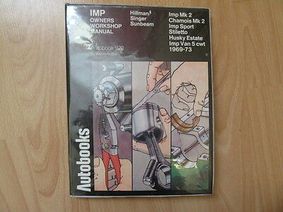 Imp owners autobook workshop manual 920 Kenneth Ball