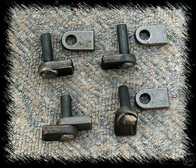 WROUGHT IRON GATE HINGES 12mmTO WELD