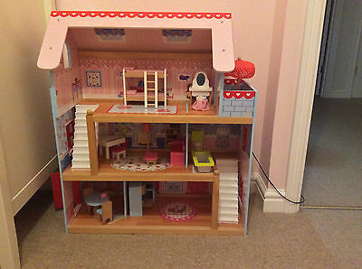 Kidcraft Chelsea Doll Cottage - Wooden Doll House