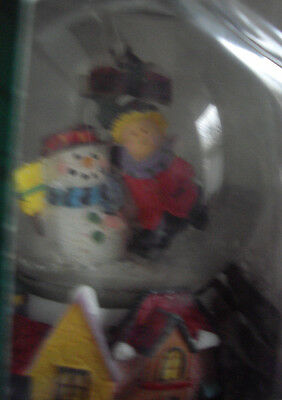 Glass Water Ball Snow Globe Hand Painted Skater Kmates Collectables