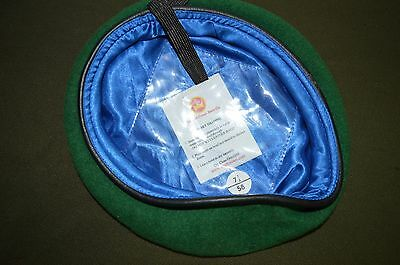 British Army Issue Officers Intelligence Corps Green Beret Size 58