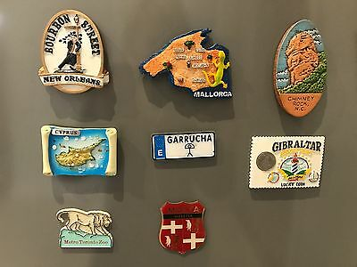 Topicgraphical Fridge Magnets - International Places