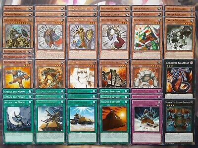 Yugioh Tournament Ready to Play Triamid Koa'ki Meiru Complete 42 Card Deck NM
