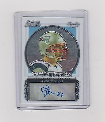 2006 Dave Thomas   Bowman Sterling Rookie Autograph