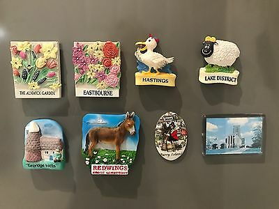 Topicgraphical Fridge Magnets from the United Kingdom / Great Britain