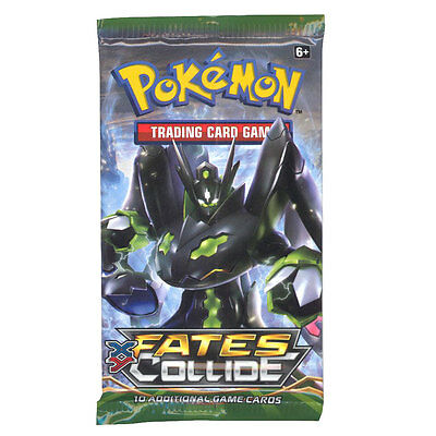 Pokemon Cards - XY Fates Collide - Booster Pack (10 cards) - New Factory Sealed