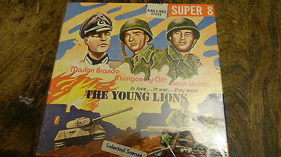super 8 film THE YOUNG LIONS  still sealed color sound