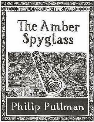 The Amber Spyglass by Philip Pullman Paperback Book Free Shipping!