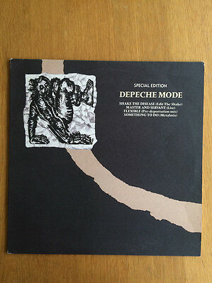 """DEPECHE MODE Special Edition Shake the Disease Vinyl 12"""" EP Mute Records Stereo"""