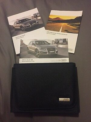 Audi 2013 Q5 Owner's Manual And Case