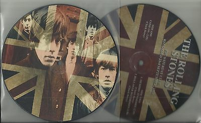 ROLLING STONES - COME ON + 2- limited edit. Picture Disc-mcps
