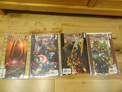 Ultimate Extinction #1-4 all NM Ultimates LOW RESERVE