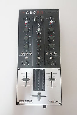ECLER NUO 2.0 DJ Audio Mixer - Superb Condition, Hardly Used. Needs New X-Fader