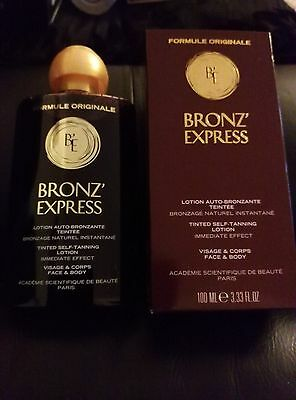 Academie Bronz' Express. Tinted Self-Tanning Lotion. 100ml