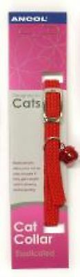 Ancol Softweave Cat Collar - Red